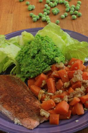 Lax, avokado och valnötter - fett bra!