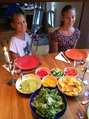 Barn, grönsaker och mjölk – hur gör man?