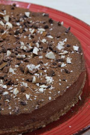 Lyxig chokladpaj