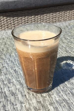 Smart iskaffe - en njutning varma sommarmorgnar
