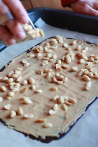 3 snickers jordnötter liten