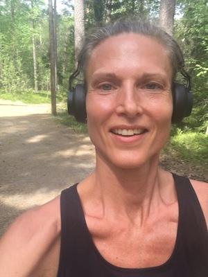 Från en av mina extremt lyckoframkallande joggingrundor. #nofilter #slutastrulaknä!