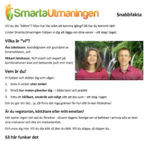 Snabbfakta SmartaUtmaningen
