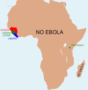 Afrika är stort...